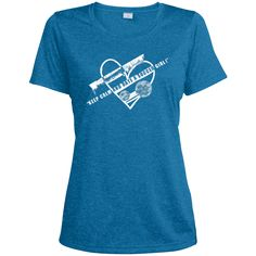 Do you love soccer? You're going to love our T-shirts!  Keep Calm and Date A Soccer Girl - Ladies Heather Dri-Fit Moisture-Wicking Tee - $22.99