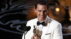 Matthew McConaughey - Oscar winner Best actor in a Leading Role