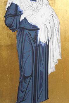 Religious Icons, Religious Art, Writing Icon, Paint Icon, Creativity Exercises, Byzantine Icons, Catholic Art, Orthodox Icons, Tempera