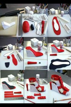 a21ce34429e431 77 Best cake shoe template images