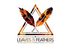 leaves and feathers