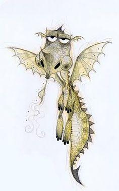 Concept Art - Personnages © Dragons