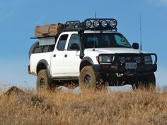 Toyota Tacoma 2004 double cab, expedition-overland vehicle makeover