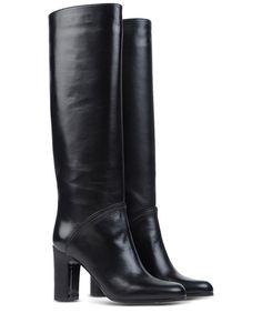 L'autre Chose Knee High Boots in Black