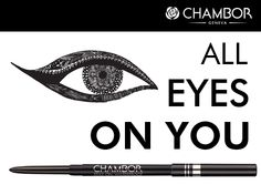 Add instant allure to your eyes by highlighting them with Chambor's Stay-On Waterproof Eyeliner Pencil. Now available at a fabulous price of Rs 295/-.