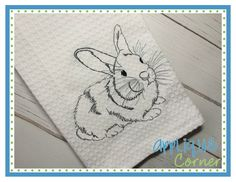 Bunny 8 Embroidery Design