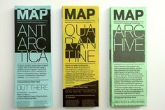 research/data/architectural projects on folded A1: MAP (Manual of Architectural Possibilities) (via NOTCOT)