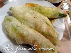 Fiori di zucca fritti alla romana - Il Gran Consiglio della Forchetta