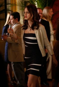 Blair Waldorf Bass (brinksss)! How to make a scandals dress classy. Find a cute nude cardigan.