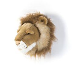 Dierenkop Leeuw - klein - Cesar- muurornament - Wild & Soft
