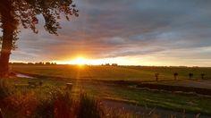 Sunrise in Nigtevecht, The Netherlands (2015)