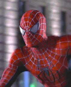 Marvel in film - 2004 - Tobey Maguire as Spider-Man - Spider-Man 2 by Sam Raimi Marvel Comics Superheroes, Marvel Dc, Spider Man 2004, Amazing Spider Man 3, Spiderman Pictures, Man Movies, Cinema, Spider Verse, American Comics
