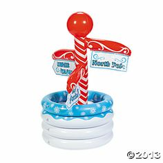 Inflatable North Pole Cooler