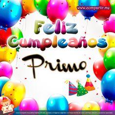 Feliz Cumpleanos Primo | Tarjeta Feliz cumpleaños Primo para el Facebook