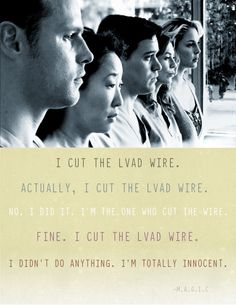 Grey's Anatomy - LVAD WIRE .