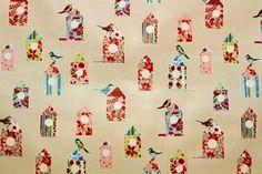 Vidal Tecidos | Produtos | 880/5865284, tecido platificado, pássaros