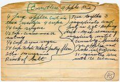 Crustless Apple Pie Retro Recipes, Vintage Recipes, Red Apple, Apple Pie, Pie Shop, Pie Crust Recipes, Disney Food, Betty Crocker, Dessert Recipes