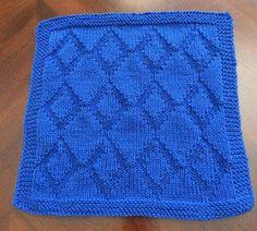 "Køkken/karklud ""Rombie"" – Handmade by sannes-web. Dishcloth Knitting Patterns, Knitting Charts, Knit Patterns, Washing Clothes, Diy And Crafts, Wool, Blanket, Crochet, Handmade"