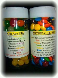 Old Age Pills/Menopause Pills