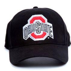 2b69434d092 NCAA Ohio State Buckeyes LED Light-Up Logo Adjustable Hat by Lightwear.   20.17.