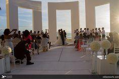 And then he kissed her #Bride #GrandVelas #RivieraNayarit #Lovely #Weddings
