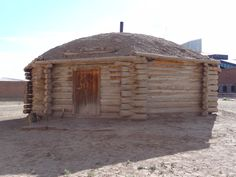 The hogan is a sacred home for the Navajo people who practice traditional religion.  Every family even if they live most of the time in a newer home- must have the traditional hogan for ceremonies and keep themselves in balance.