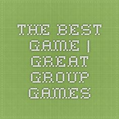 Great group games dating game