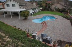 #Belgard #Catalina #Pavers #Victorian color installed professionally from #ModernPaving.com