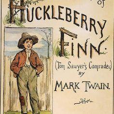 Clemens: Huck Finn, 1885 by Granger Framed Prints, Canvas Prints, Art Prints, History Cartoon, Adventures Of Huckleberry Finn, Wood Print, Digital Image, Unique Art, Fine Art America