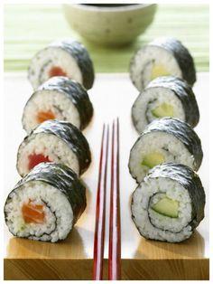 Dieses Sushirezept ist wunderbar puristisch und doch so lecker: Maki (Sushi)
