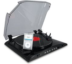 ION USB Turntable with Universal Dock for iPod by Adkat Distribution - MI code, http://www.amazon.co.uk/dp/B002OHE4RM/ref=cm_sw_r_pi_dp_EALkrb0R2ZDCX