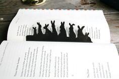 #BookmarkMonday (240): Shhh, don't break the #Easter bunny's cover! / guiltless reading