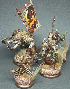 Skorne Battlegroup w/ Lord Assasin Morgul; Titan Gladiator & Cyclops-Raider/