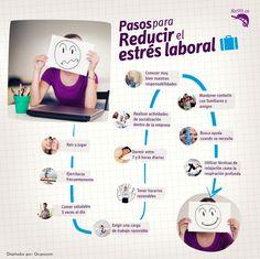 Pequeños consejos para evitar el estrés laboral que afecta nuestra salud considerablemente! SALUD LABORAL=MENOS ESTRÉS #nutricion s #salud #beneficios #tips #saludable #estrés #laboral