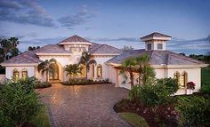3,800 square feet of Mediterranean perfection, Architectural Designs House Plan 66321WE