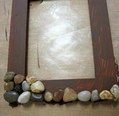 DIY Rocky Picture Frame - Morena's Corner