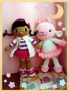 Dra juguetes y Lambie de Carlita en fieltrolandia