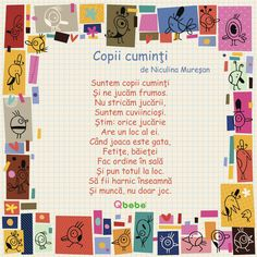 Copii cuminti Experiment, Kids Poems, Kids Education, Montessori, Activities For Kids, Preschool, Parenting, Journal, Math