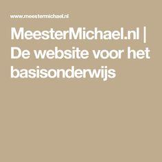 MeesterMichael.nl | De website voor het basisonderwijs