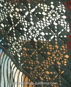 Black Shawl FREE pattern