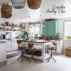 The charm of the Shabby Chic decor. #interior #design #rustic #decor #casadevalentina