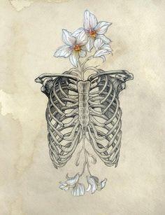Skelet flowers