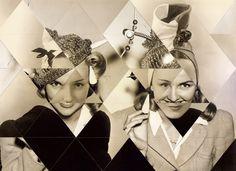 Susana Blasco. Collages (triángulos) 1