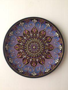 Mandala Art, Mandala Design, Henna Mandala, Mandala Painting, Mandala Pattern, Color Me Mine, Dot Art Painting, Painted Plates, Stone Art