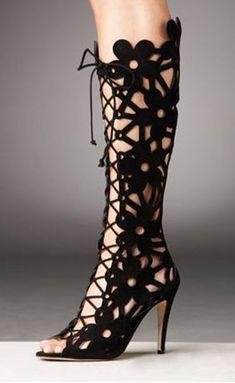 Manolo-Blahnik-Lace-Up-Cutout-Boot