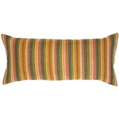Sedona Striped Linen Pillow