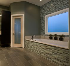 Glazzio Tiles offers a unique appearance unachievable with conventional tiles. The vibrancy and depth of color combined with the reflective quality of glass.