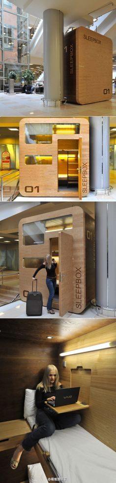 Sleep pop-up box