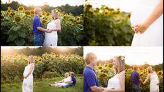 #photographybymalleyvictoria Natural light photography  Maternity shoot Sunflower