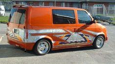 Image Custom Pickup Trucks, Chevy Trucks, Custom Van Interior, Chevy Astro Van, Mens Vans Shoes, Vans Men, Gmc Vans, Gmc Safari, Dream Car Garage